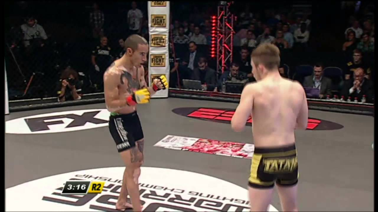 Cage Warriors 59 prelim: Brett Johns v David Haggstrom
